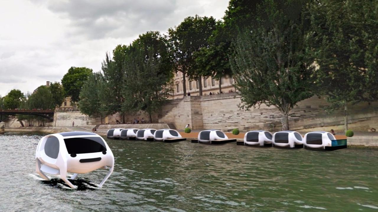 SeaBubbles Paris