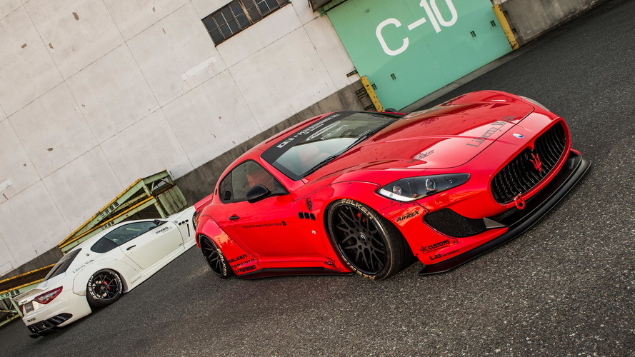 Widebody Maserati Gran Turismo dreads speed bumps