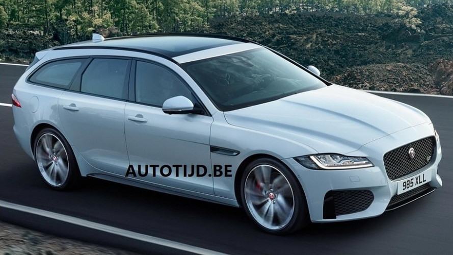 Is This The 2018 Jaguar XF Sportbrake?