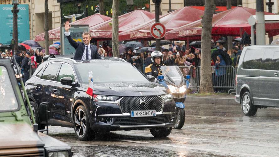 Bespoke DS 7 For New French President