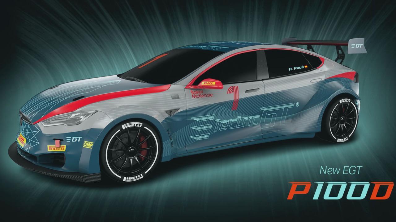 Electric GT Tesla Model S P100DL