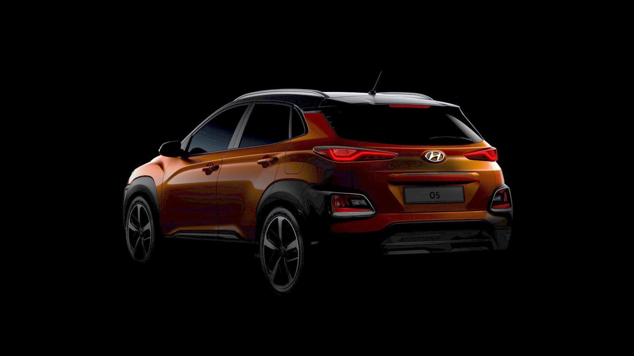 2018 Hyundai Kona teaser (modified)