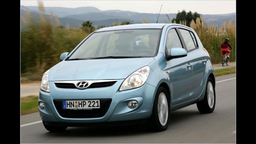 Hyundai i20: Gewachsener Getz-Nachfolger als Sparmeister