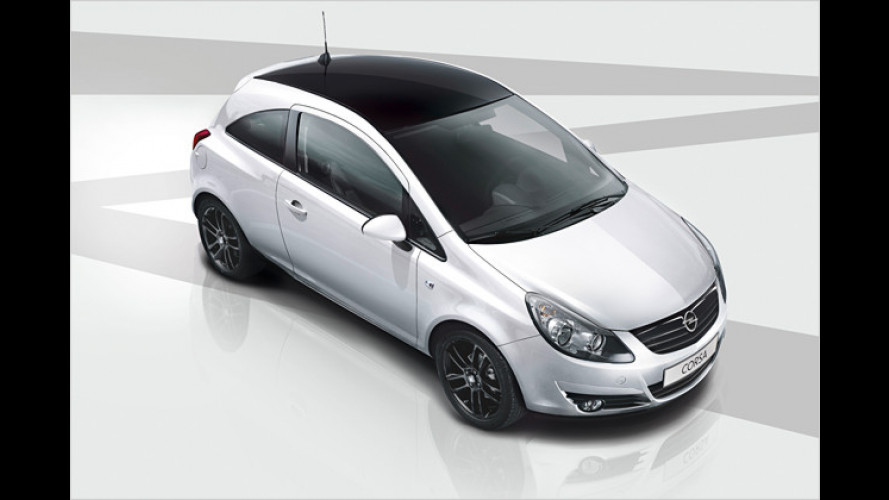 Corsa Color Edition: Opels Kleiner ganz sportiv