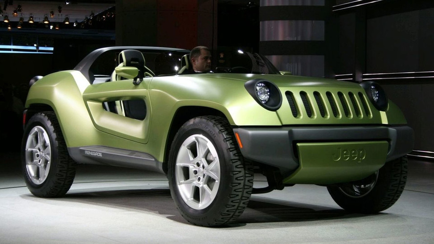 Jeep Renegade Concept Crashes the Detroit Party