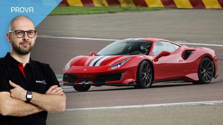 Ferrari 488 Pista, amore a prima Pista