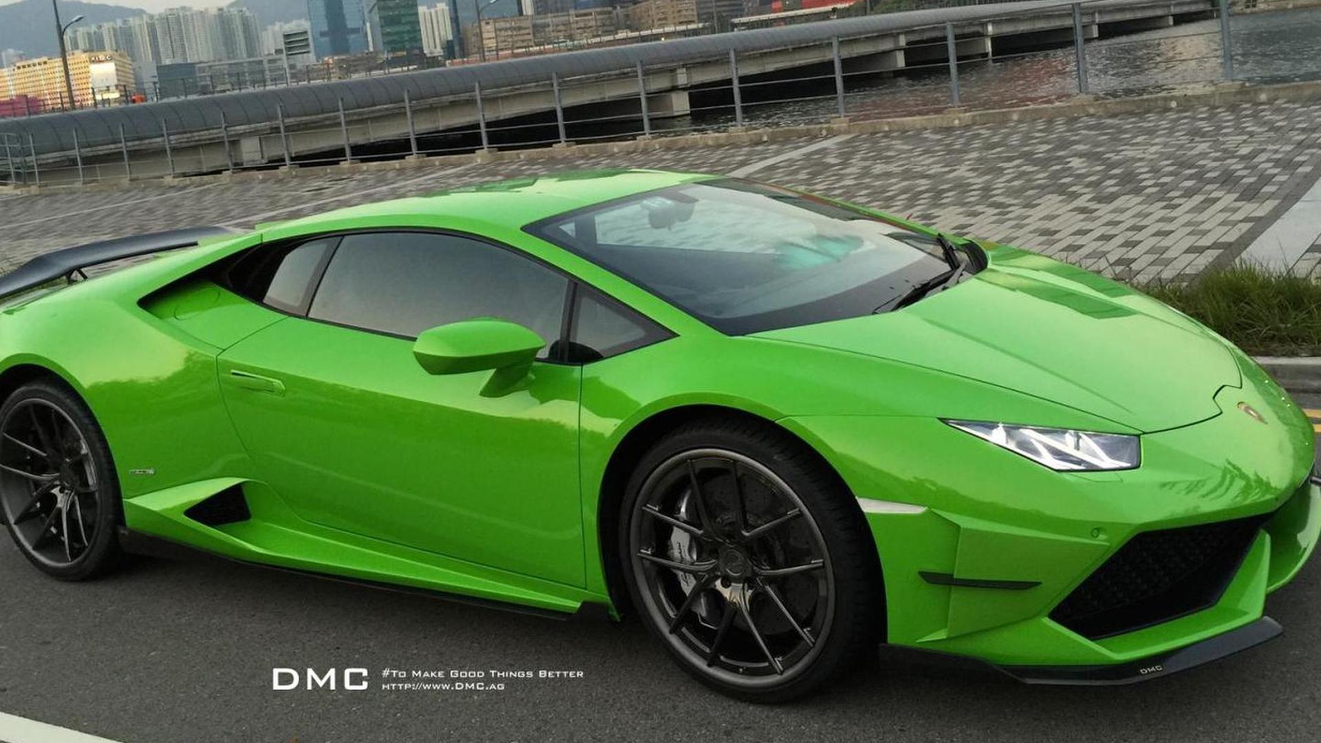 Тюнингованный суперкар Lamborghini Huracan Affari