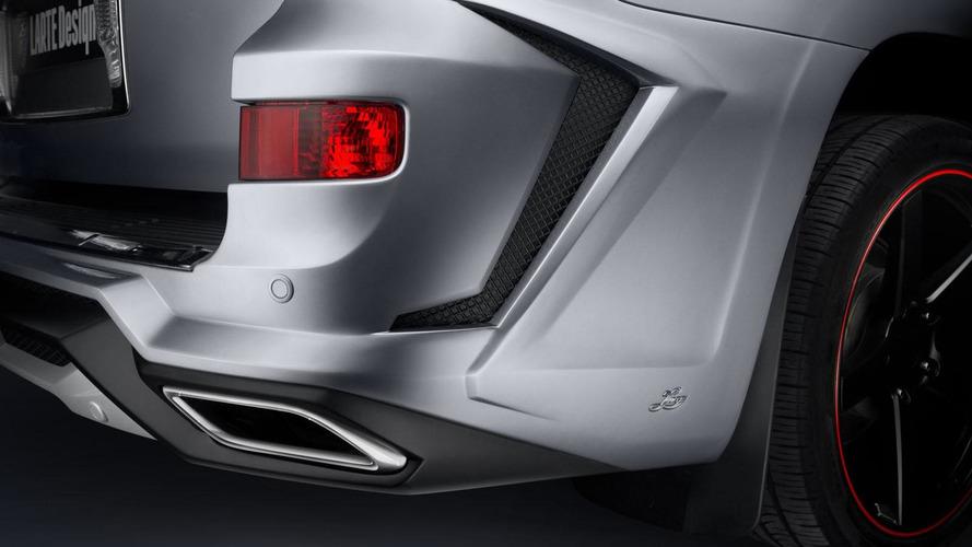 Larte gives the Lexus LX 570 an aggressive body kit