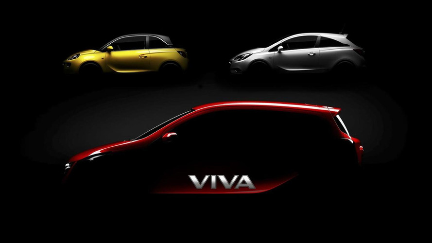 Opel Karl /Vauxhall Viva city car announced & teased [video]