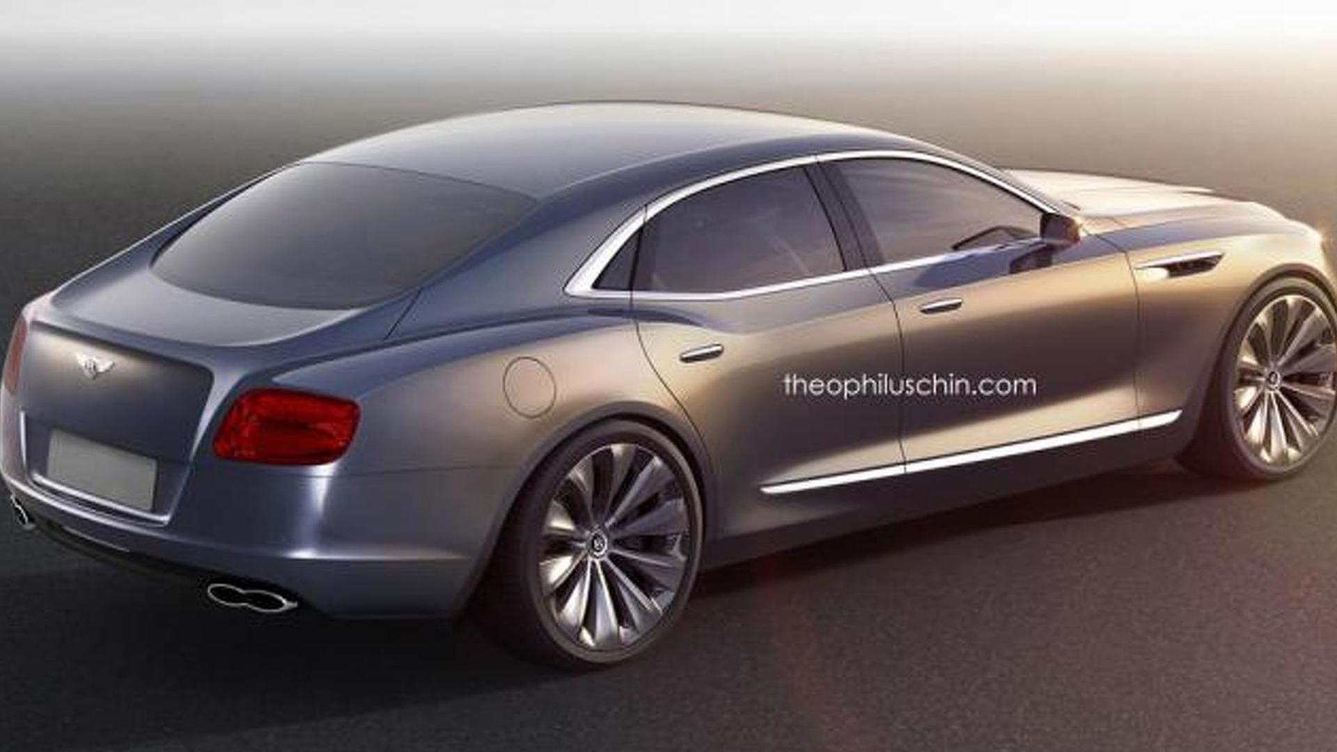 Дешевый седан Bentley из Buick Avenir, неофициально