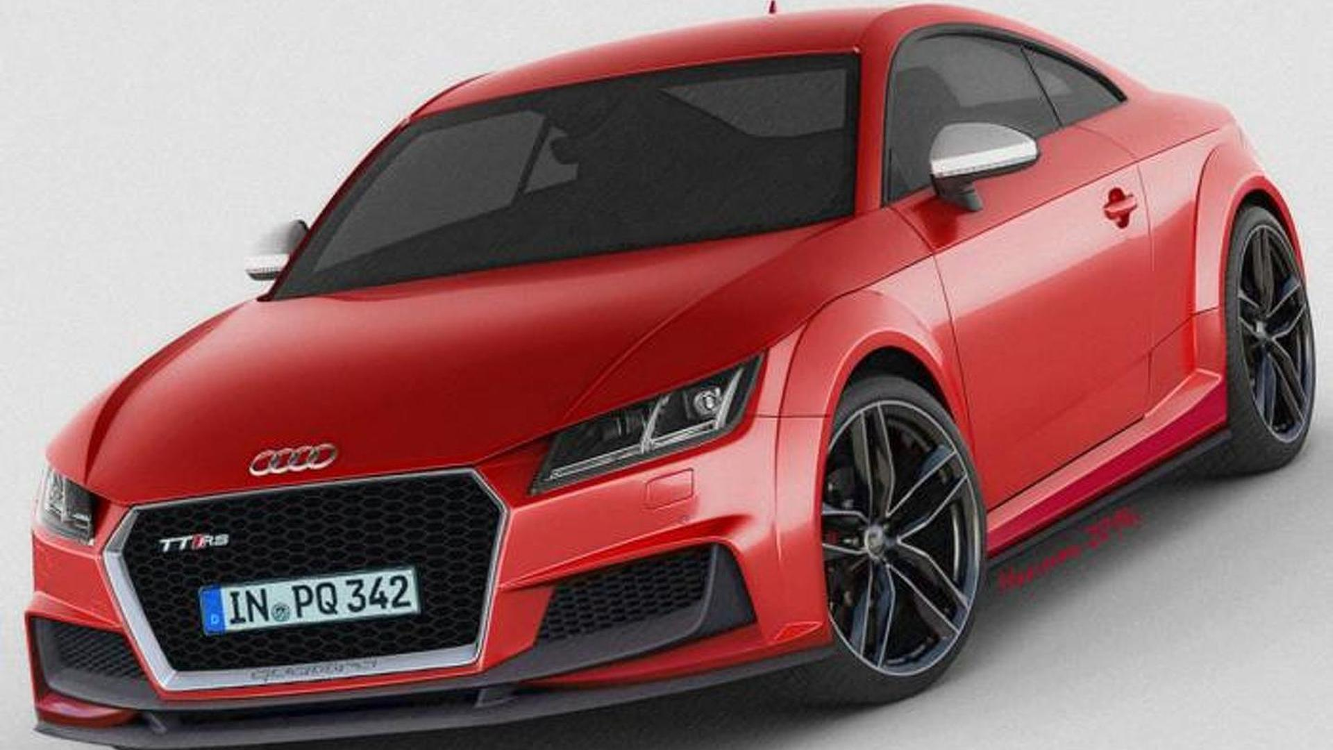 2015 audi tt rs speculatively rendered