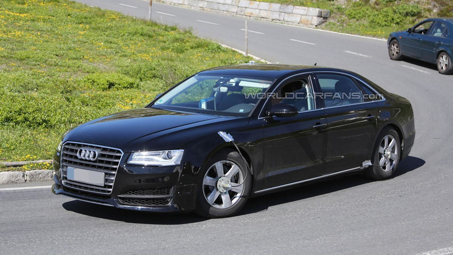 Audi execs confirm semi-autonomous A8, will be able to drive itself at speeds up to 37 mph