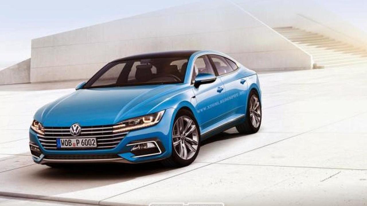 Volkswagen CC rendering / X-Tomi Design