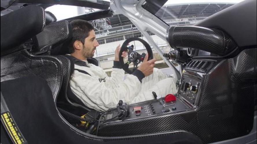 Mercedes SLS AMG GT3, la nostra prova al Nürburgring