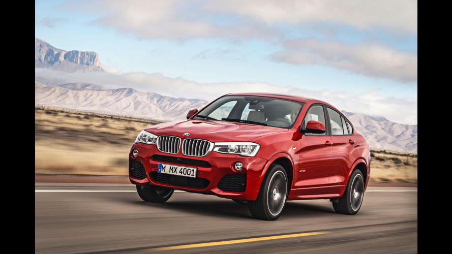 BMW X4, dammi il cinque