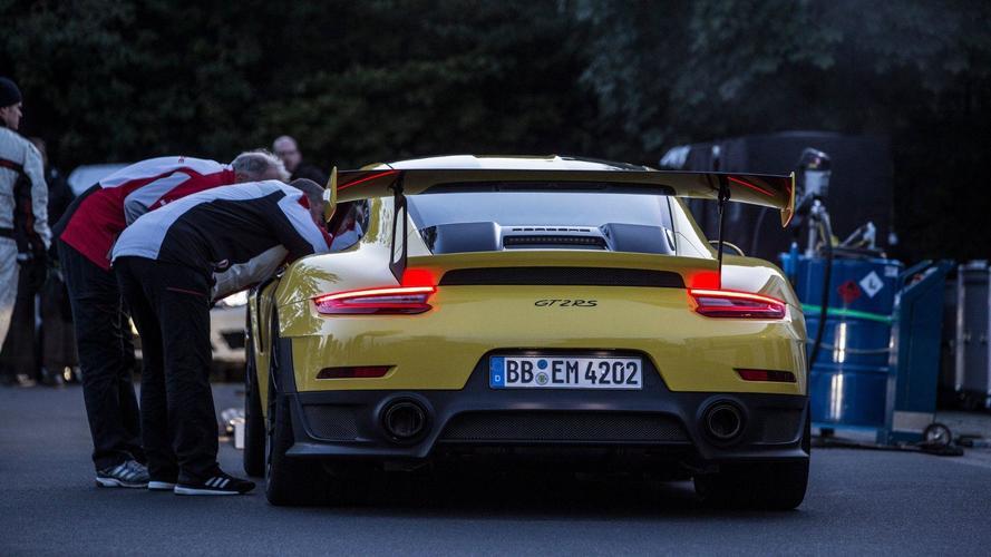 Porsche 911 GT2 RS - Record Nürburgring