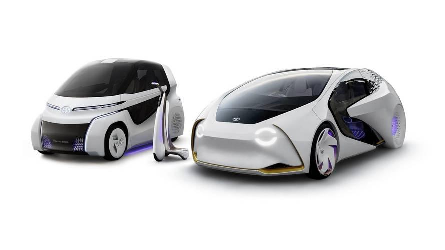 Toyota Concept-i Walk