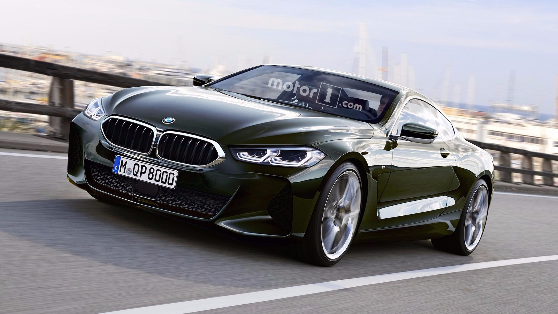 NextGen BMW Series Spied Without Camouflage In Leaked Photos - 8 series bmw