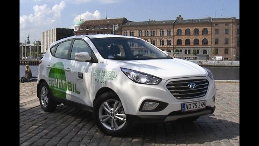 Hyundai entrega primeira unidade do ix35 Fuel Cell em Copenhague