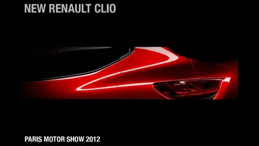 Renault divulga teaser da nova geração do compacto Clio - Modelo será apresentado em Paris