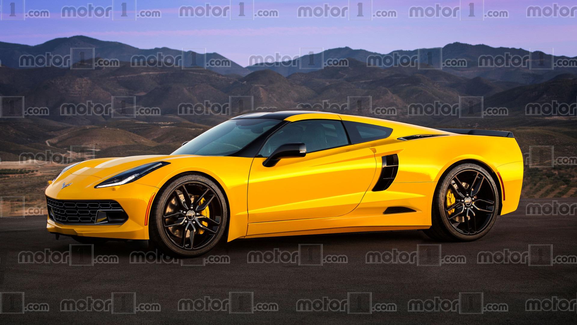 Et Si La Future Corvette C8 224 Moteur Central Ressemblait 224 231 A