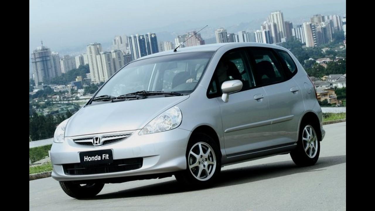 Honda faz novo recall para o Fit no Brasil - ação envolve 184.386 unidades
