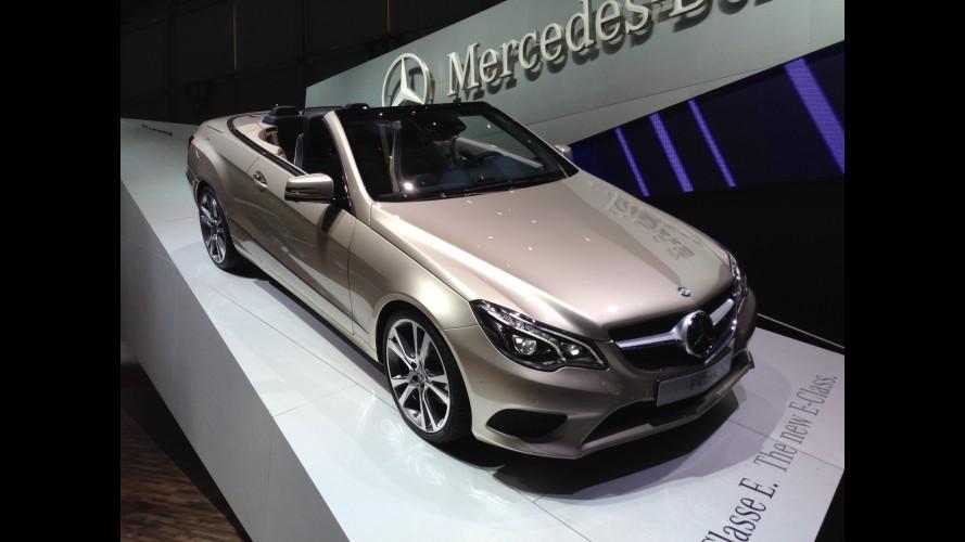 Direto de Genebra: reestilizado, Mercedes Classe E desembarca em setembro