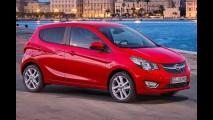 Opel Karl será vendido pelo equivalente a R$ 29 mil na Alemanha