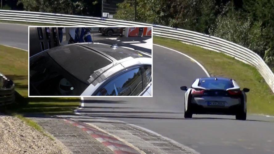 Vidéo - La future BMW i8 Spyder 2018 surprise en cours d'essais