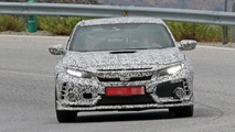 2018 Honda Civic Type R spy photo