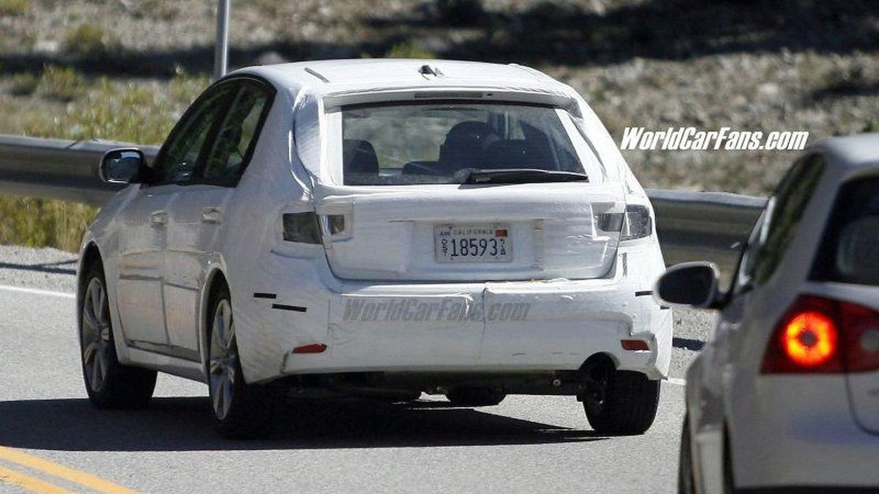 SPY PHOTOS: All-New Subaru Impreza