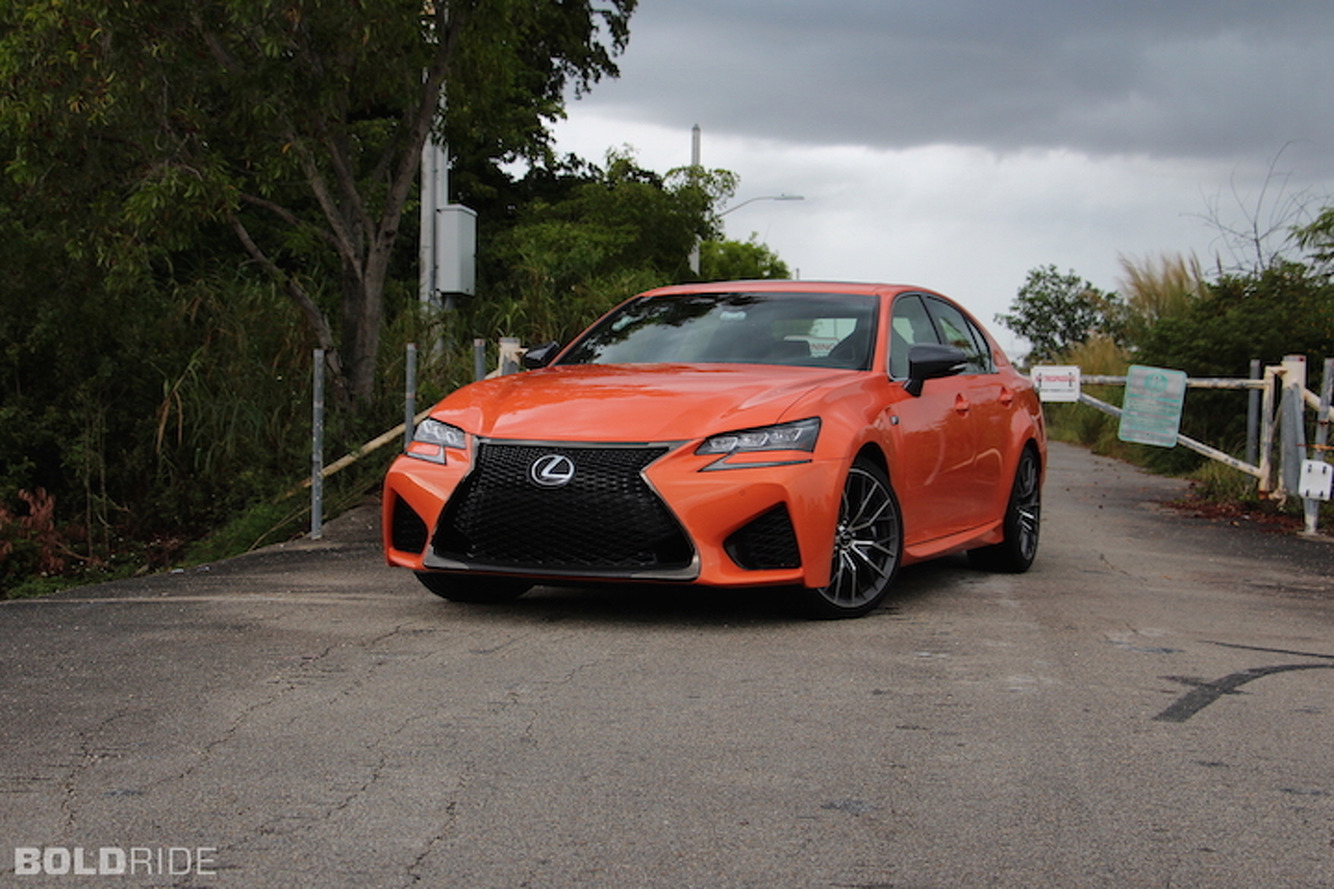 The Lexus GS F Wants to Eat You, And That's Sort of the Charm: Review