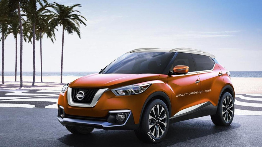 Next-gen Nissan Juke rendered with Gripz and Kicks influences