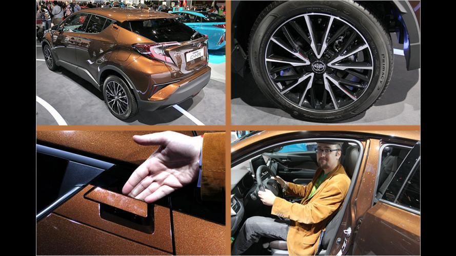 Sitzprobe: Toyota C-HR