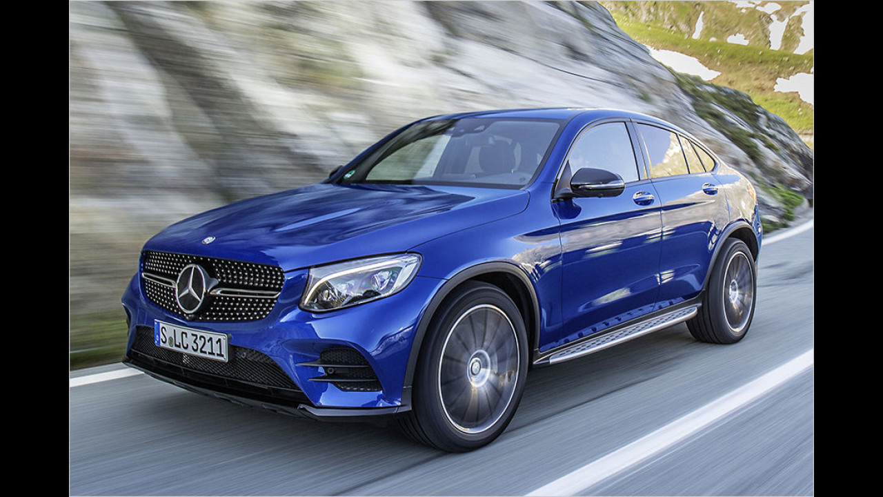 Mercedes GLC Coupé Edition 1