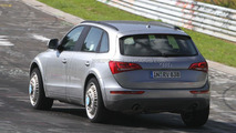 Audi Q6 chassis test-mule spied 17.08.2011