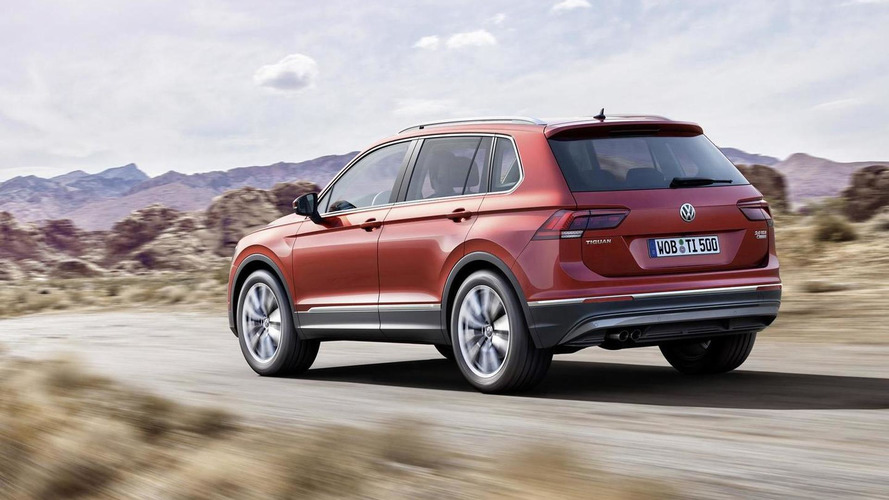 2016 Volkswagen Tiguan officially revealed