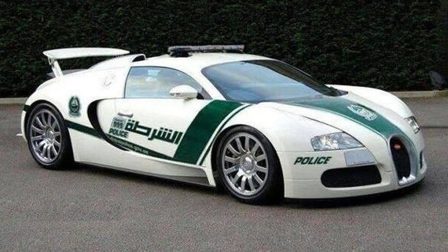 Dubai police adds Bugatti Veyron to its fleet