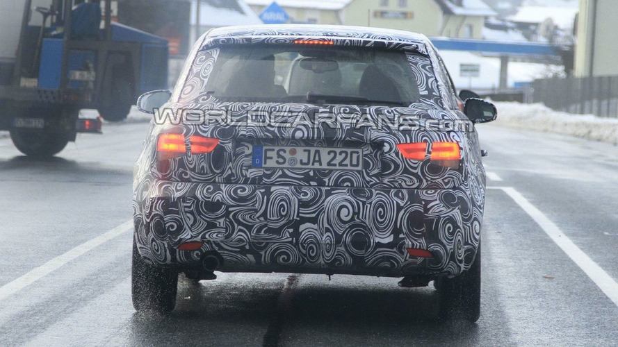 Audi A1 Final Spy Photos - Media Reveal Next Week