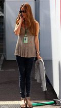 Jessica Michibata (JPN) girlfriend of Jenson Button (GBR) - Formula 1 World Championship, Rd 6, Monaco Grand Prix