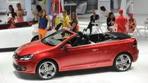 Volkswagen Golf Cabriolet live in Geneva - 01.03.2011