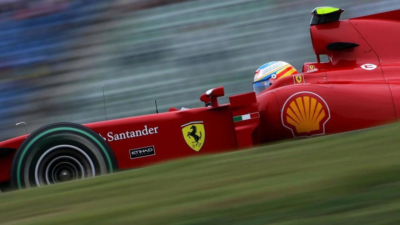 Fernando Alonso (ESP), Scuderia Ferrari, German Grand Prix, Friday Practice, 23.07.2010 Hockenheim, Germany