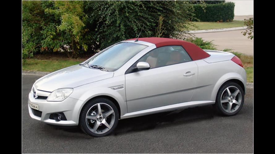 Blech im Pelz: Opel Tigra TwinTop Concept von Heuliez