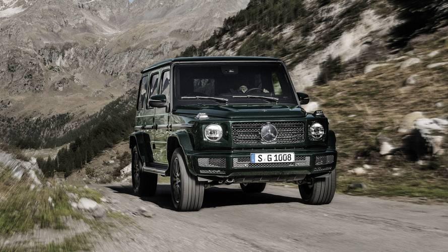 Mercedes G-Class will get a diesel option in December