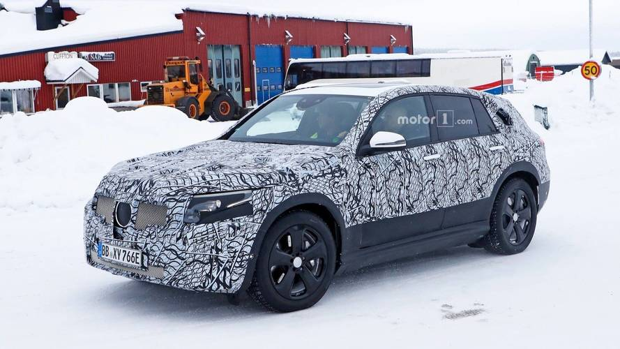 Mercedes EQ C Spied Getting Ready For Production