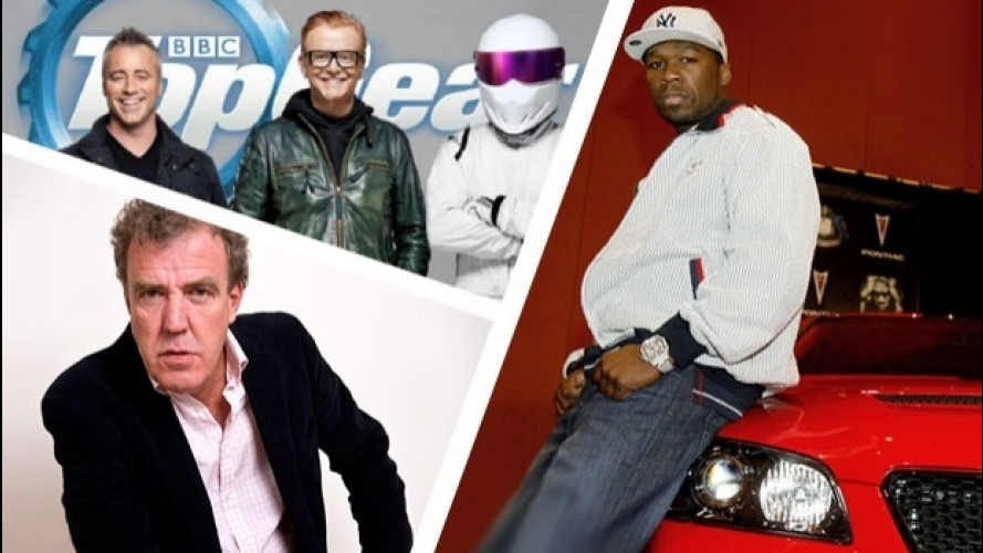 Top Gear, 50 Cent si candida per sostituire Chris Evans