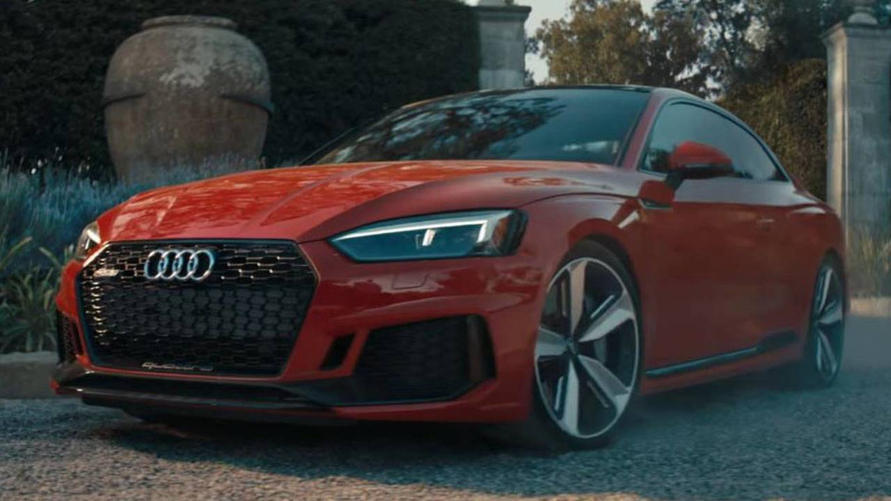 Audi RS5 Coupe Reklam