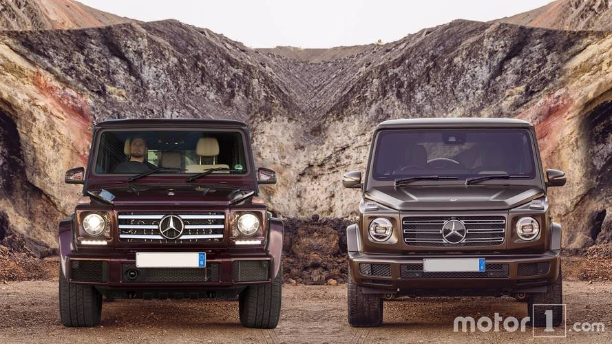 2019 Mercedes-Benz G-Class: See The Changes Side By Side