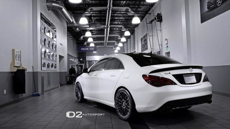 Mercedes CLA D2Editon revealed by D2Autosport