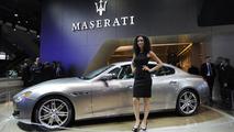 Maserati Quattroporte Ermenegildo Zegna concept live in Frankfurt 10.09.2013